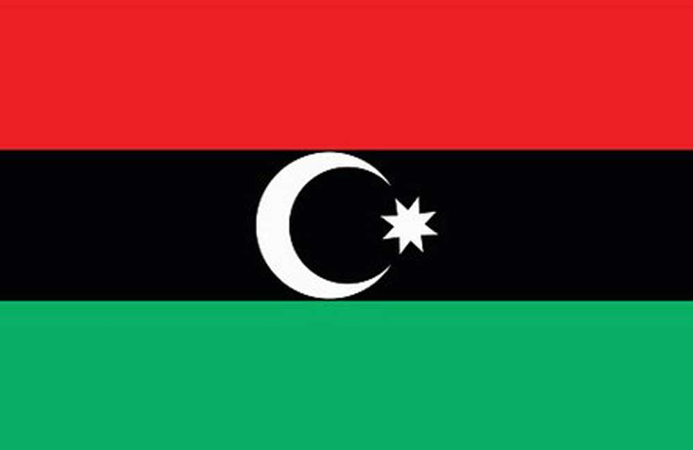 Das Power Libya - Bayrak